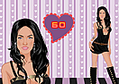 Megan Fox Dress Up Game