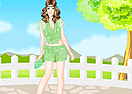 Green Apple Princess Dress Up Game