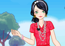 Lace Girl Dress Up Game