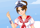Pretty Sailor Dress Up Game
