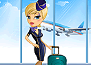 Trendy Stewardess