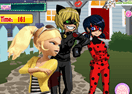 Ladybug and Cat Noir Kissing