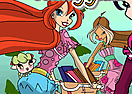 Winx Club Bikes - Coloring Game