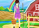 Pretty Farm Girl Dress Up