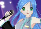 Anime Singer Girl Dress Up Game