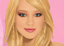 Hilary Duff Facial Makeover