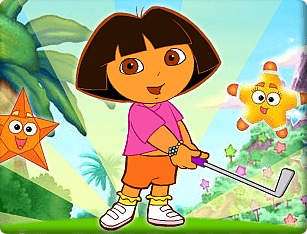 Jogo Dora's Star Mountain – Mini-Golf!