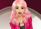 Black and Pink Beauty Makeover