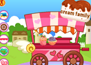 Miss DIY Ice Cream Stand