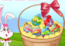 Easter Egg Basket Decoration