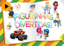 Figurinhas Divertidas do NickJr.