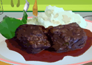 Braised Beef Short Ribs with Chocolate and Cinnamon