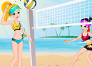 Summer Beach Volleyball