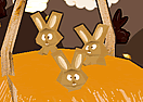 Easter Chocolate Bunnies 3D