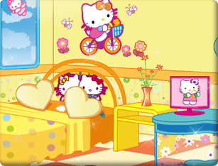 Ojogos Hello Kitty Fan Room