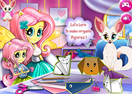 Baby Lessons With Fluttershy