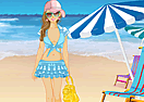 Summer Beach Girl Dress Up
