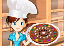 Sara's Cooking Class - Chocolate Pizza