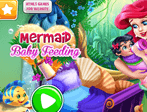 Mermaid Baby Feeding