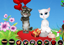 Talking Tom and Angela Valentine's Day