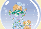 Holly Hobbie - Create-a-Snow Globe