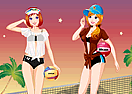 Sister's Sand Volleyball
