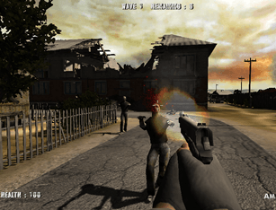 Jogo Call of Zombies Online Gratis